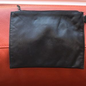 TUMI Black Pouch Real Leather